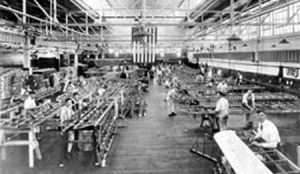 Italian planes were built in 'Fiat' factory