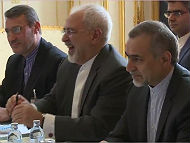 Iran's Foreign Minister Javad Zarif at Vienna talks