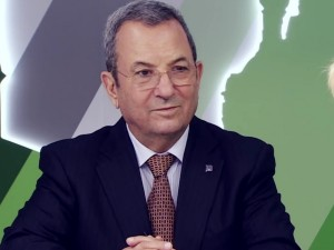 Former prime minister and defense minister Ehud Barak