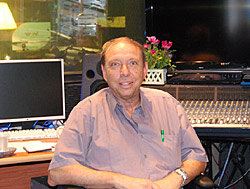 Prof. Reuven Or at IsraCast Studios