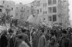British Soldiers Bomb Ben-Yehuda Street