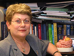 Professor Hermona Soreq, Dean of the Faculty of Science at the Hebrew University