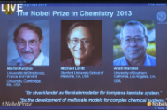 THREE ISRAELI & JEWISH PROFESSORS RECEIVE NOBEL PRIZE IN CHEMISTRY