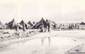 Transit camp in the Negev desert for Jewish refugees from Arab countries, 1949