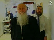 ALS patient Rabbi Refael Shmulevitz who recovered his speech and mobility following NurOwn treatment