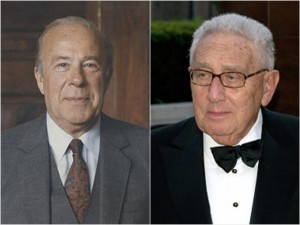 Former Secretaries of State, George Shultz & Henry Kissinger