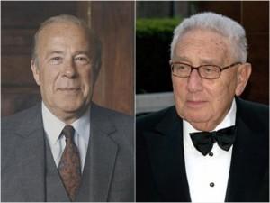 Former Secretaries of State, George Shultz & Henry Kissinger