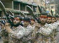 Hezbollah terrorists in Lebanon