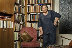 Prof. Myriam Yardeni (Photo: Koby Kalmanovich)