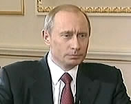 Russian Prime-Minister Vladimir Putin