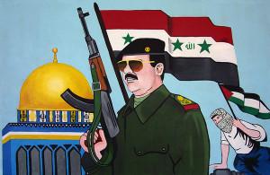 Painting of Saddam Hussein (© Eric Doeringer)