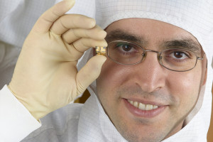 Prof. Hossam Haick has developed an artificial nose that detects disease biomarkers passing from the bloodstream to the lungs and out through the breath. (photo courtesy of Israel21C)