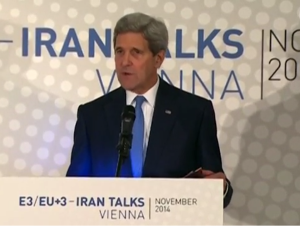 Secretary of State Kerry: Nuclear talks will be extended by another seven months