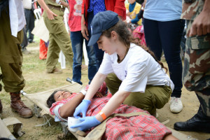 IDF's Field Hospital in Nepal (photo credit: IDF)