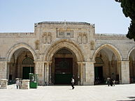 al Aqsa mosque on the Temple Mount