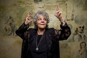 Prof. Ada Yonath (Photo: Koby Kalmanovich)