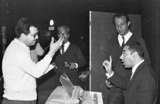 Jo Amar (left), 1967