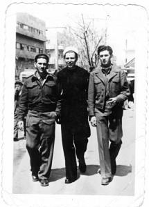 Eliezer Lebovitz, Yisachar Lebovitz and Aryeh Lebovitz, Herzl St. Haifa, 1948