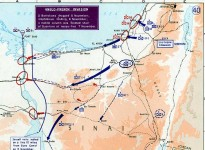 A map of the Suez war (from Wikipedia)