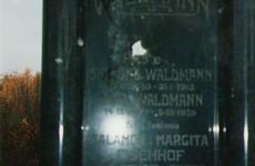 Jewish grave in Vukovar