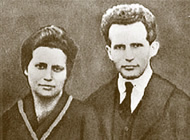 David and Paula Ben-Gurion 1915