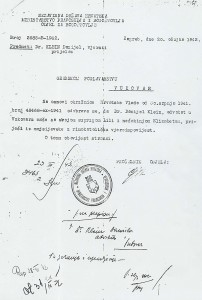 document #1 - conversion of Dr. Daniel Klein