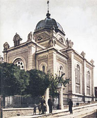 Jewish synagogue in Vukovar, 1940