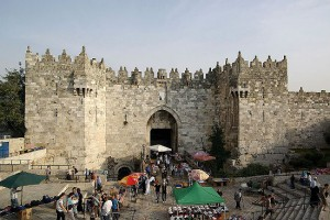 Damascus Gate in Jerusalem (photo credit: Berthold Werner)