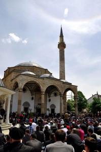 The King's Mosque (Pristina) of Sultan Mehmet Fatih in Pristina, Kosovo (CC Aljabakphoto - Wiki Commons)