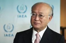 IAEA Director Yukiya Amano