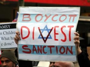 BDS protest against Israel (CC Takver - wikimedia commons)