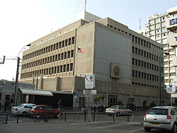 US Embassy currently located in Tel Aviv