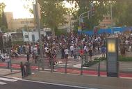 Ethiopian Israelis protest July 2, 2019 (CC Nir Vadel)