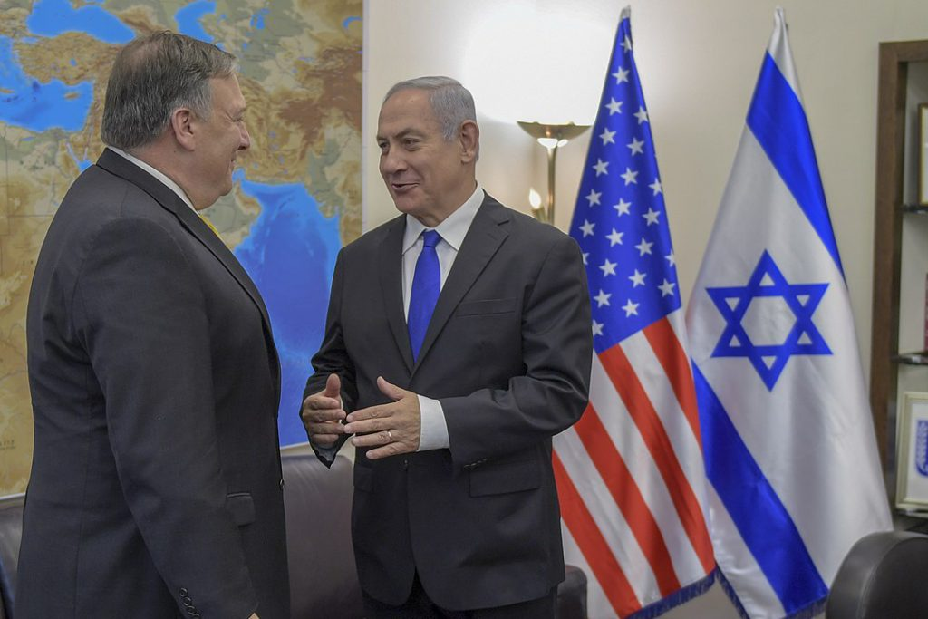 Pompeo Reassures Israel After Trump Sold Out the Kurds