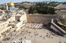 ISRAELIS AND PALESTINIANS CLASH OVER RELIGIOUS RIGHTS IN JERUSALEM